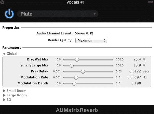 Matrix Reverb Plate heavy