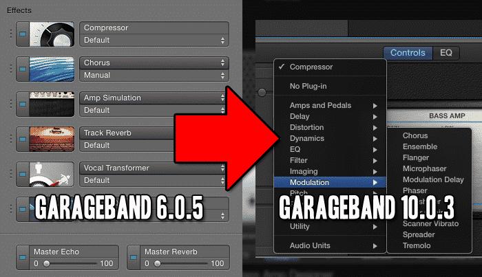 GB 6 vs 10 effects - thegaragebandguide com