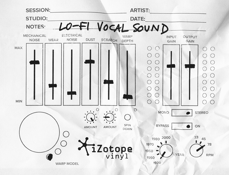 Vinyl Lo Fi Vocal Sound