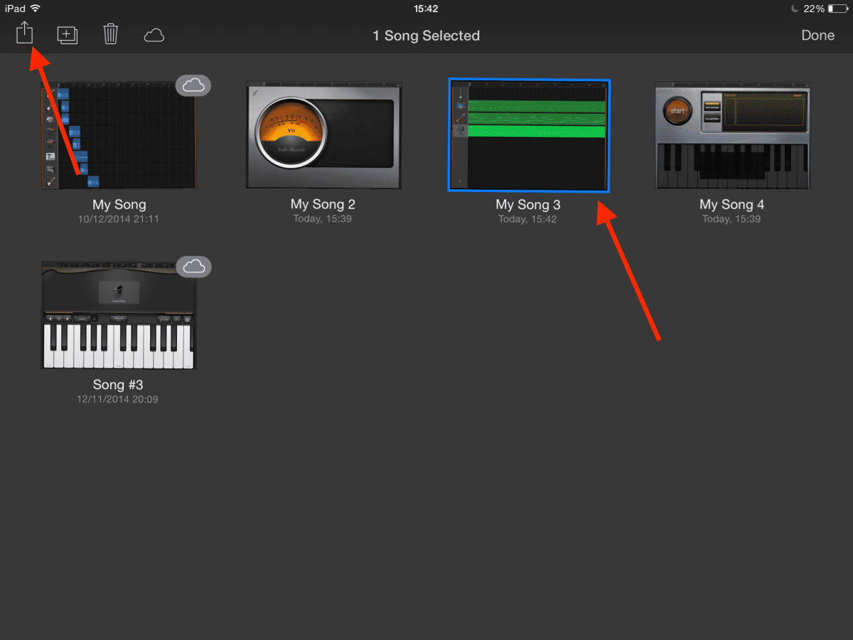 How To Share Your Garageband iOS Projects