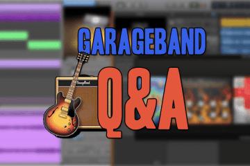 Actualización de GarageBand