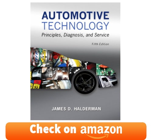 auto mechanic book for automobile