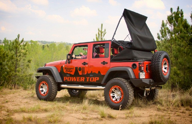 How to buy jeep soft top