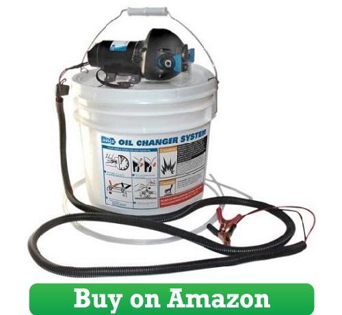 Jabsco 17850-1012 DIY Engine Oil Change System