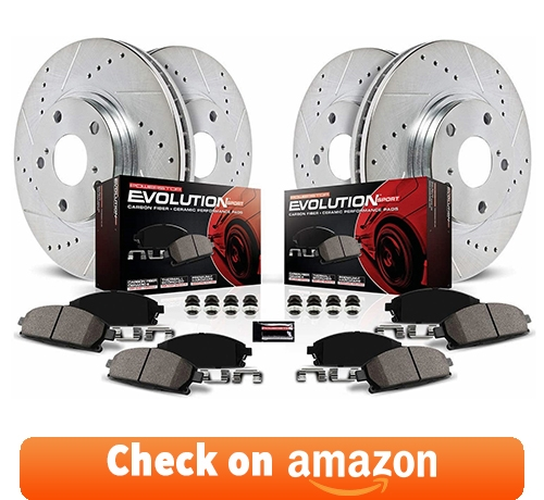 Power Stop K2068 Front and Rear Z23 Evolution Brake Kit review