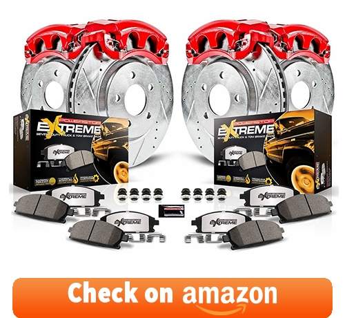 Power Stop KC2010B-36 Front & Rear Z36 Truck and Tow Brake Kit with Calipers reviews