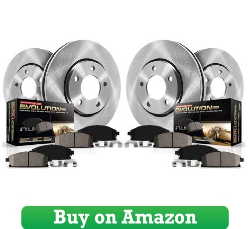 Autospecialty KOE1944 1-Click OE Replacement Brake Kit