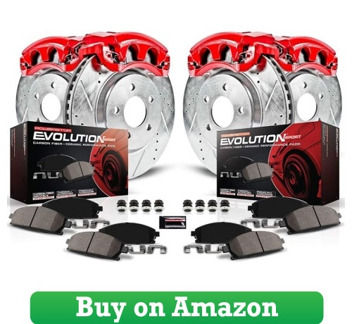 Power Stop KC1683 Z23 Evolution Sport Brake Kit with Calipers