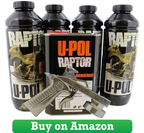 U-Pol 0820V-Gun Black Truck Bed Liner Kit