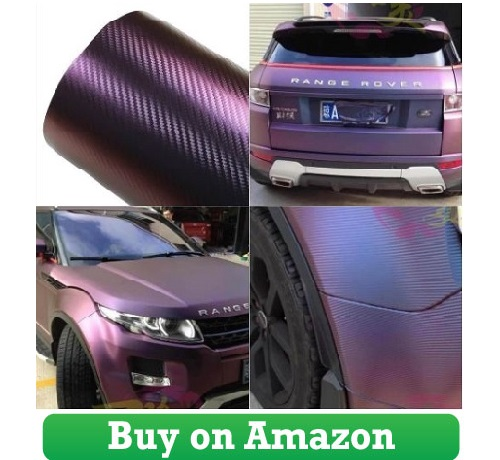 ATMOMO Purple and Blue Car Chameleon Wrap