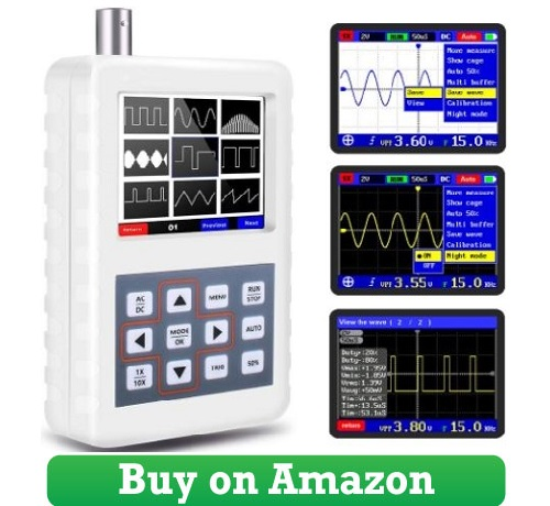 YEAPOOK Handheld Portable Mini Digital Oscilloscope 2050h Oscilloscope Kit with 5MHz Bandwidth