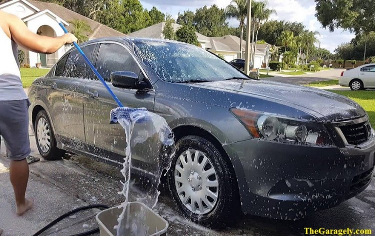 wash your car by self