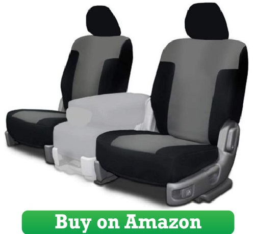 Custom Fit Seat Covers – Silver Neoprene Fabric