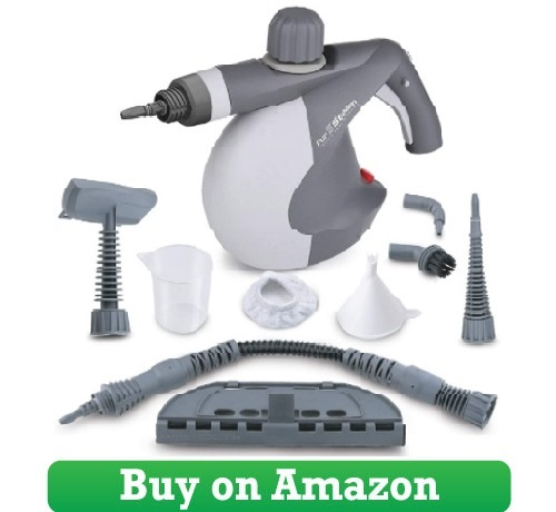 PurSteam World's Best Steamers Chemical-Free Cleaning PurSteam Handheld Pressurized Steam Cleaner