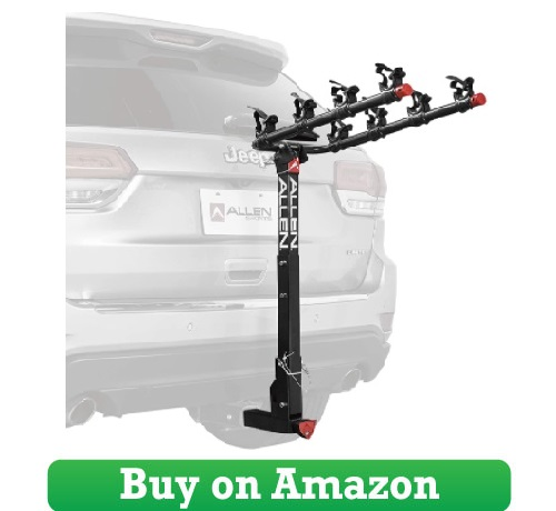 Allen‌ ‌Sports‌ ‌4-Bike‌ ‌Hitch‌ ‌Rack‌ ‌for‌ ‌2‌ ‌in.‌ ‌Hitch‌