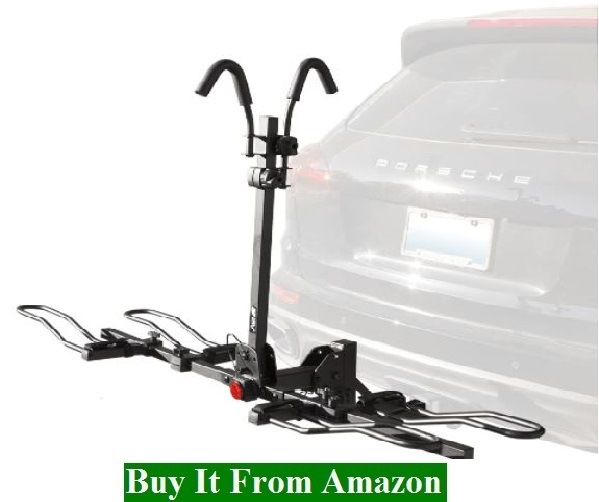 BV 2 Bike4 Bike Bicycle Hitch Mount Rack Carrier for Car Truck SUV - Tray Style Smart Tilting Design