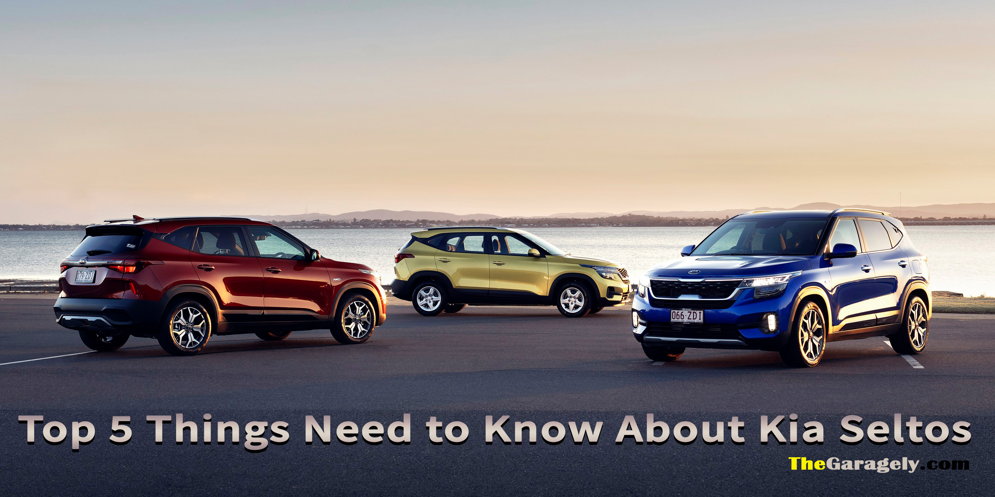 things need to know about Kia Seltos