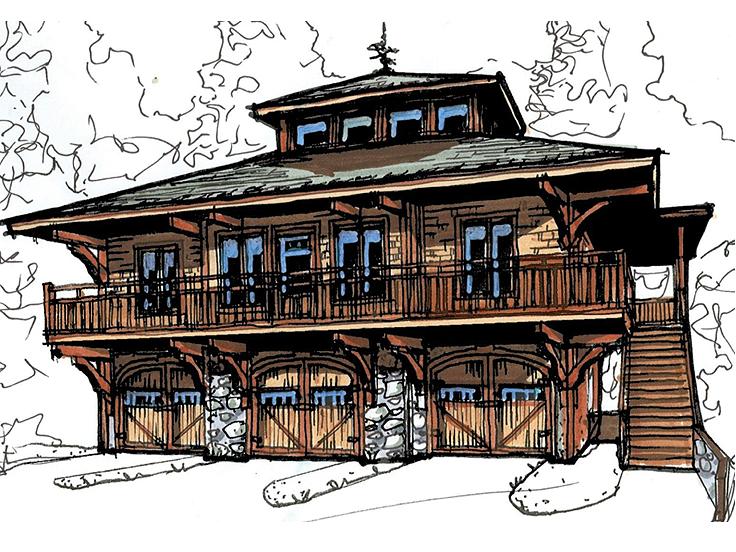 The Garage Plan Shop Blog » Garage Apartment Plans