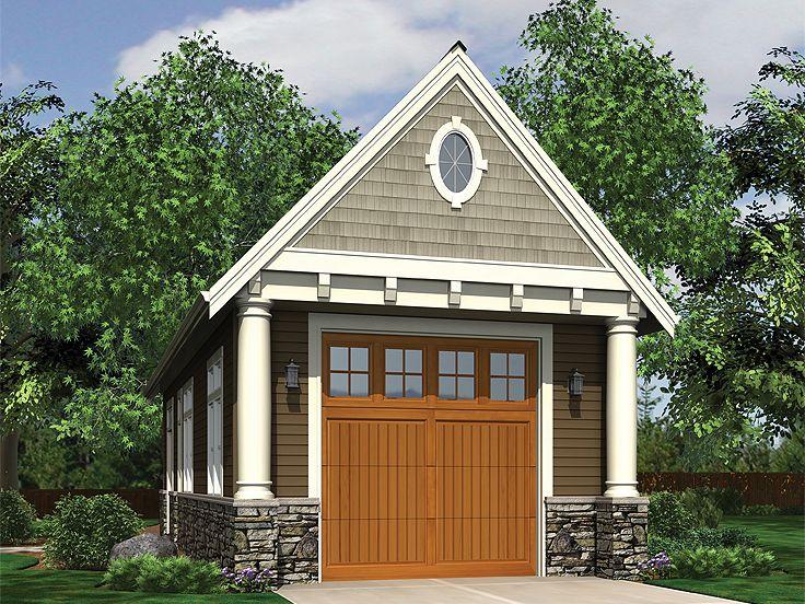 Garage Workshop Plans  Onecar Garage Workshop Plan