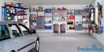 FreedomRail Garage Organization