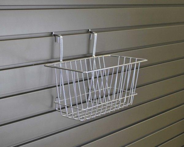 Narrow Wire Storage Basket