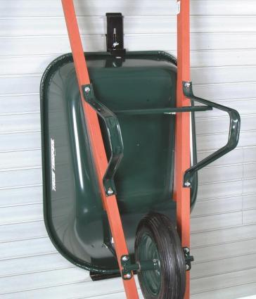 Wheelbarrow Holder  The Garage Project
