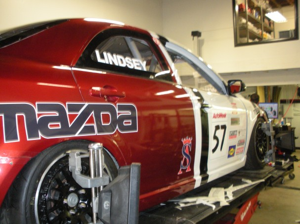 Mazda6 race car