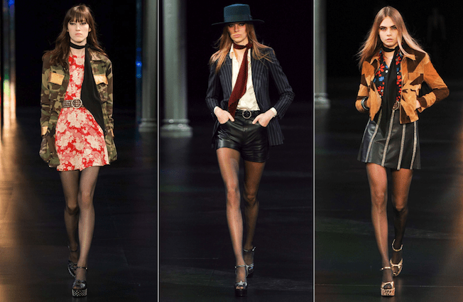 Saint_Laurent_The_Garage_Starlets_Paris_Fashion_Week_Spring_Summer_SS_2015_Ready_To_Wear_Collection_02