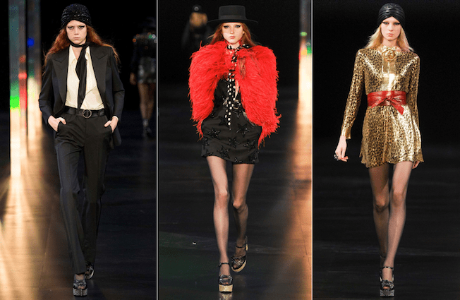 Saint_Laurent_The_Garage_Starlets_Paris_Fashion_Week_Spring_Summer_SS_2015_Ready_To_Wear_Collection_10