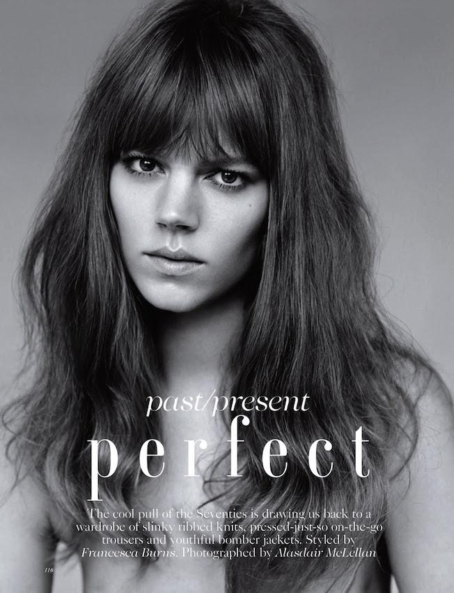 Freja Beha Erichsen for Vogue UK | The Garage Starlets