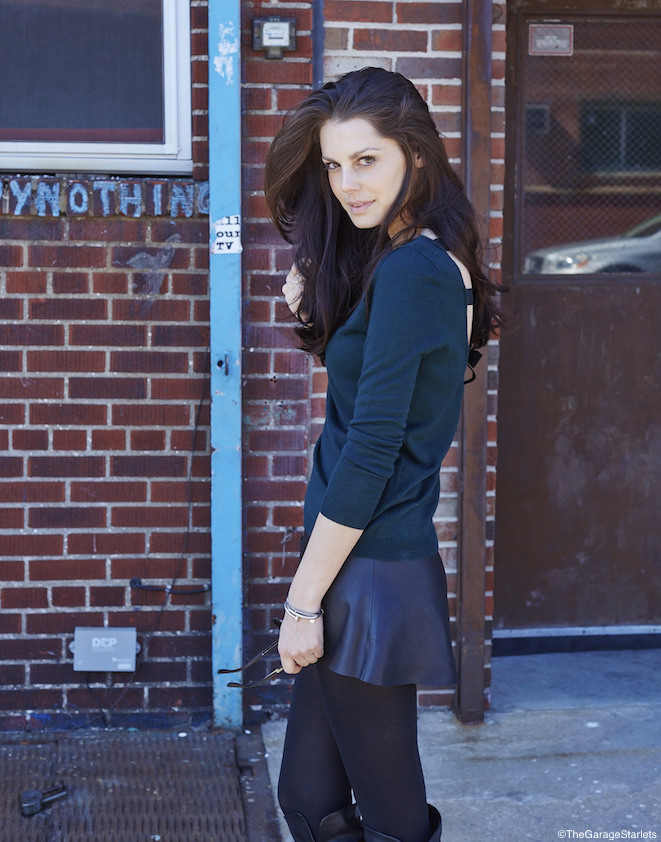 The_Garage_Starlets_Madlena_Kalinova_Leather_Skirt_Veda_Sandro_Chanel_Stella_McCartney_09