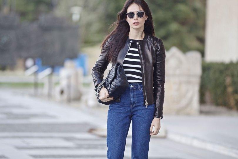 The_Garage_Starlets_Katia_Peneva_Popov_Gucci_Biker_Jacket_Zara_Topshop_Mom_Jeans_Chanel_Bag_Saint_Laurent_Ankle_Boots_Christian_Dior_Sunnglasses_01