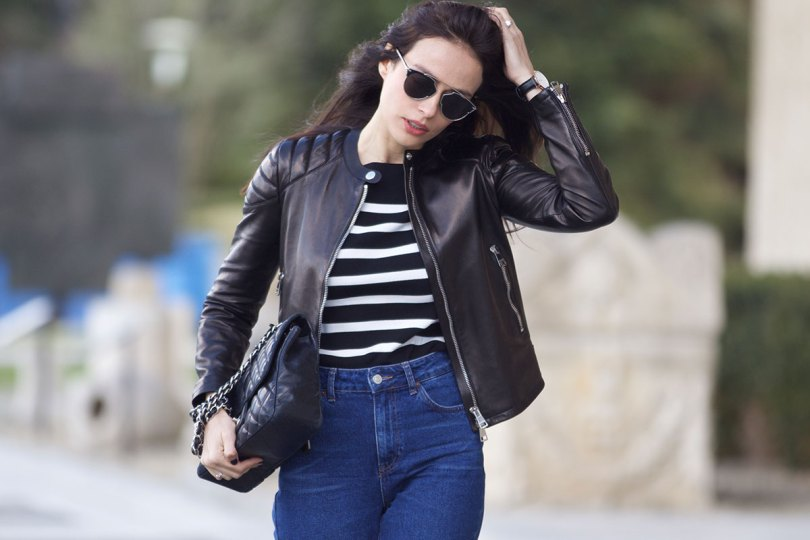 The_Garage_Starlets_Katia_Peneva_Popov_Gucci_Biker_Jacket_Zara_Topshop_Mom_Jeans_Chanel_Bag_Saint_Laurent_Ankle_Boots_Christian_Dior_Sunnglasses_11