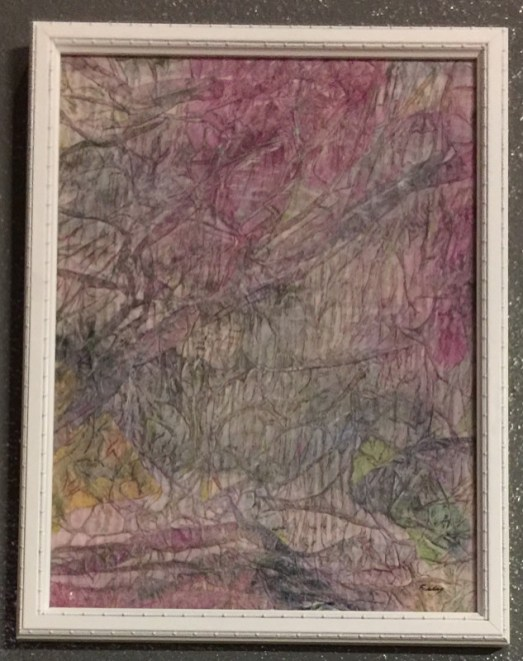 "Anne Eckley ""In The Canyon"" $325"