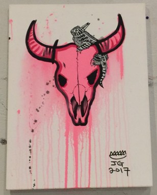 "Jeremy Gonzalez ""Spikes of the West"" $60"