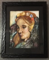 "Laura Thornton ""Celestial Queen"" $145 SOLD"