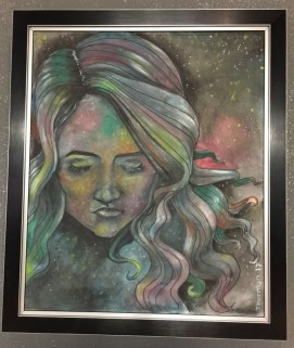 """Laura Thornton """"One with the Universe"""" $200 SOLD"""