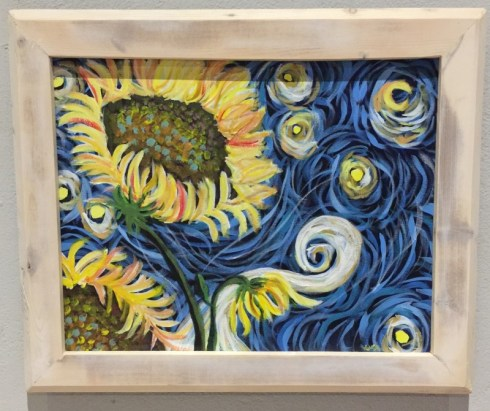 "Lisa C Hannon ""Goughing Just To Gough"" $299"