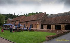The clubhouse at Shelsley Walsh