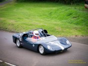 Lotus 23B Rotorvic heads up hill.