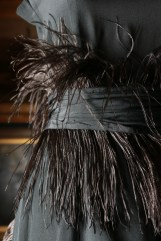 Chanel, Paris fashion house France 1914–1939 Gabrielle 'Coco' Chanel designer France 1883–1971 Dress (detail) 1919 silk (chiffon), feathers The Dominique Sirop Collection National Gallery of Victoria, Melbourne