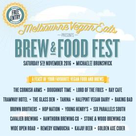Melbourne Vegan Eats Brew + Food Fest launches in Melbourne on 5 November