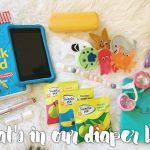 What's in our diaper bag?