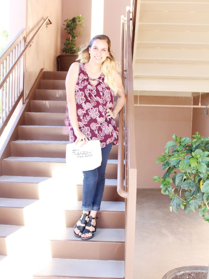 Comfy and cute date night look // casual date night // style