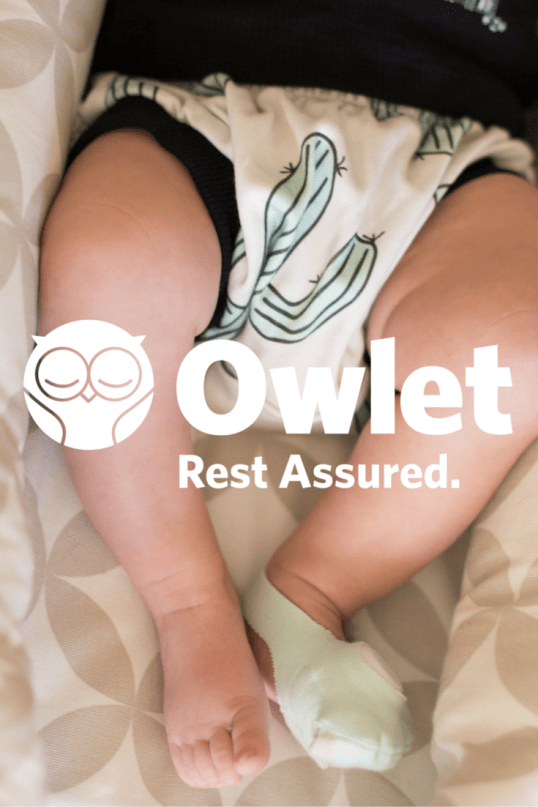 5 secrets to a good night of sleep with a newborn! #owletbabycare