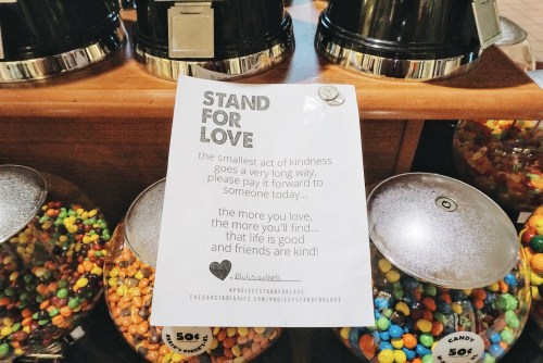 PROJECT STAND FOR LOVE - random acts of kindness