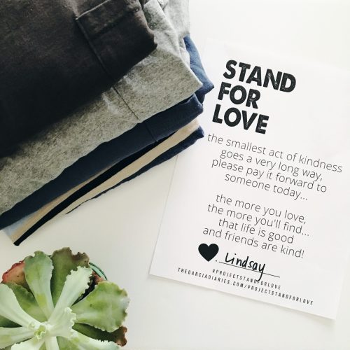 PROJECT STAND FOR LOVE