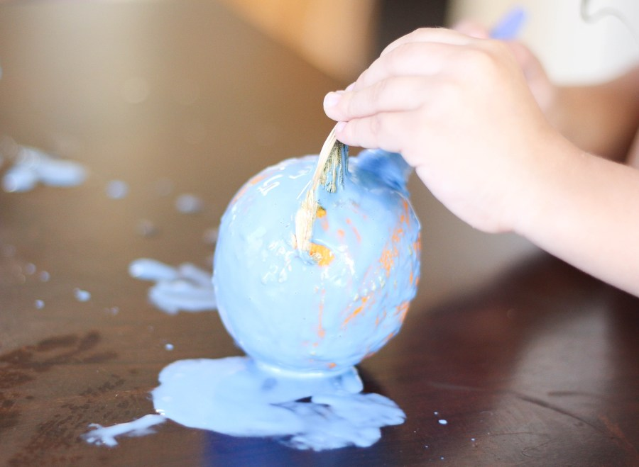 DIY Pumpkin Painting - Fall and Halloween Crafts