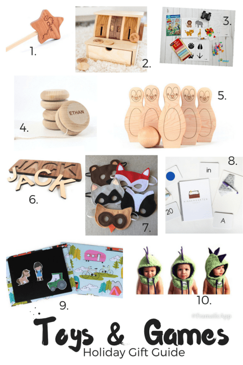 Holiday Gift Guide: Toys and Games for Toddlers and Kids