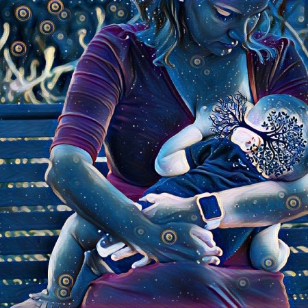 "Moms From Different Walks of Life Share Their ""Tree of Life"" Breastfeeding Photos"